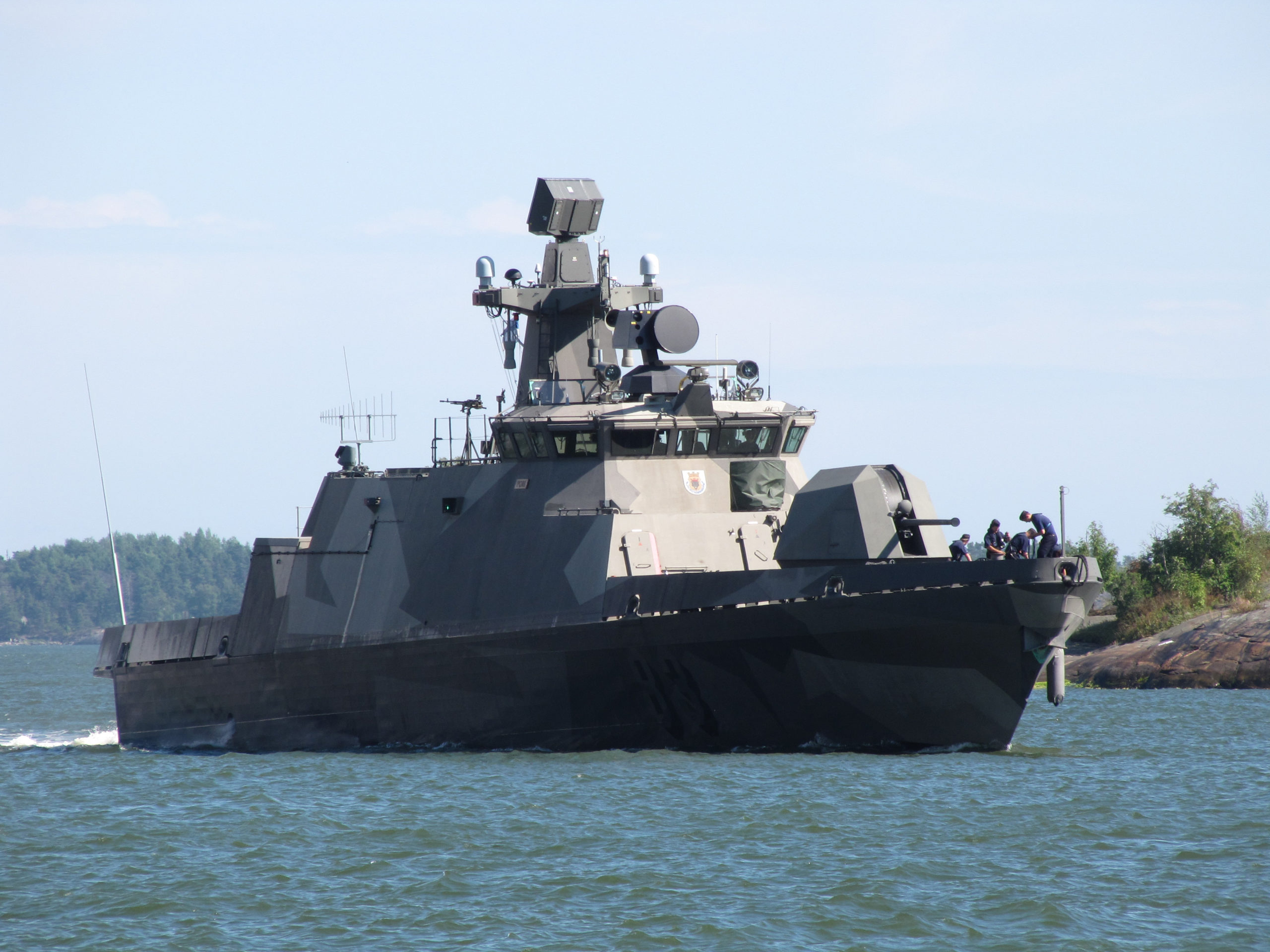 Suomen Hamina-luokan ohjusveneet on modernisoitavatai vaihdettava 2020-luvulla. // KUVA: PUOLUSTUSVOIMAT/WIKIMEDIA COMMONS