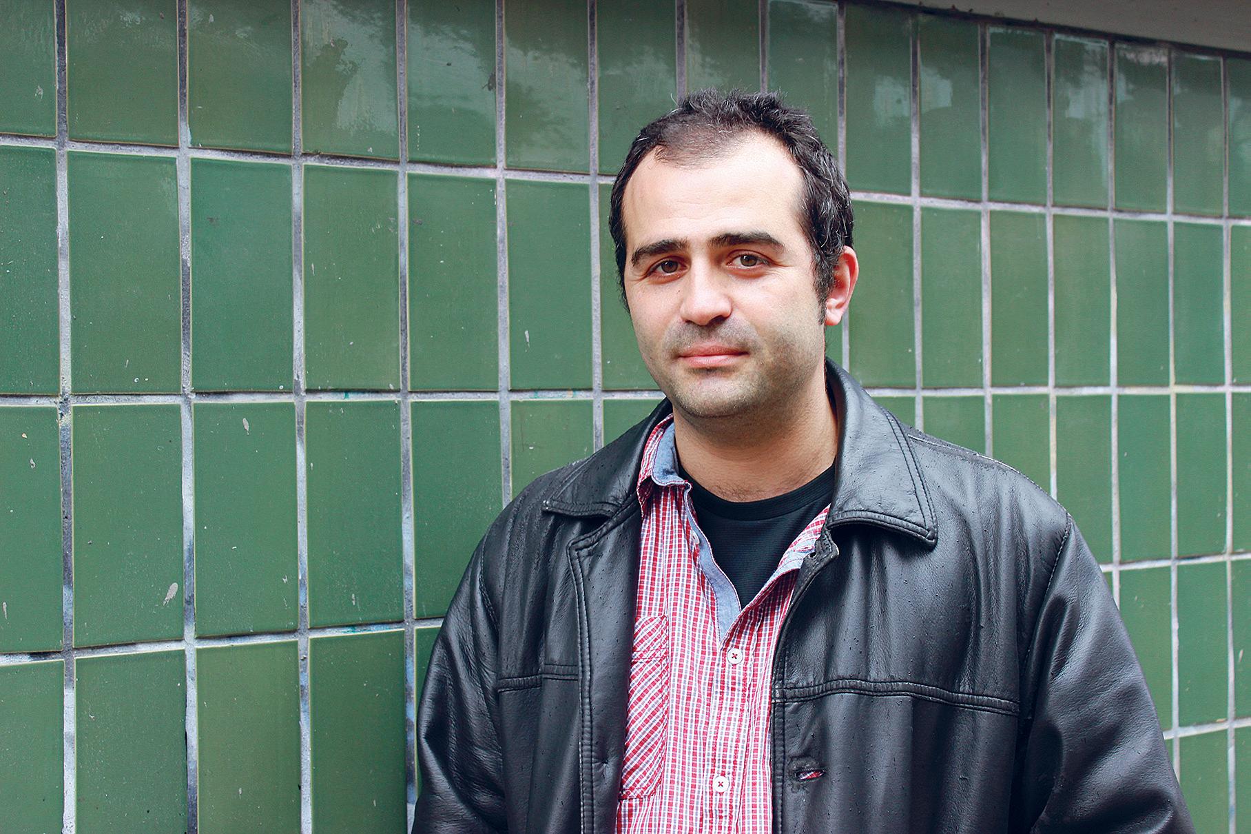 Tutkija. Karim Maïche kirjoittaa väitöskirjaa Algerian ammattiyhdistysliikkeestä. // KUVA: ANNA-KAISA HILTUNEN/UP