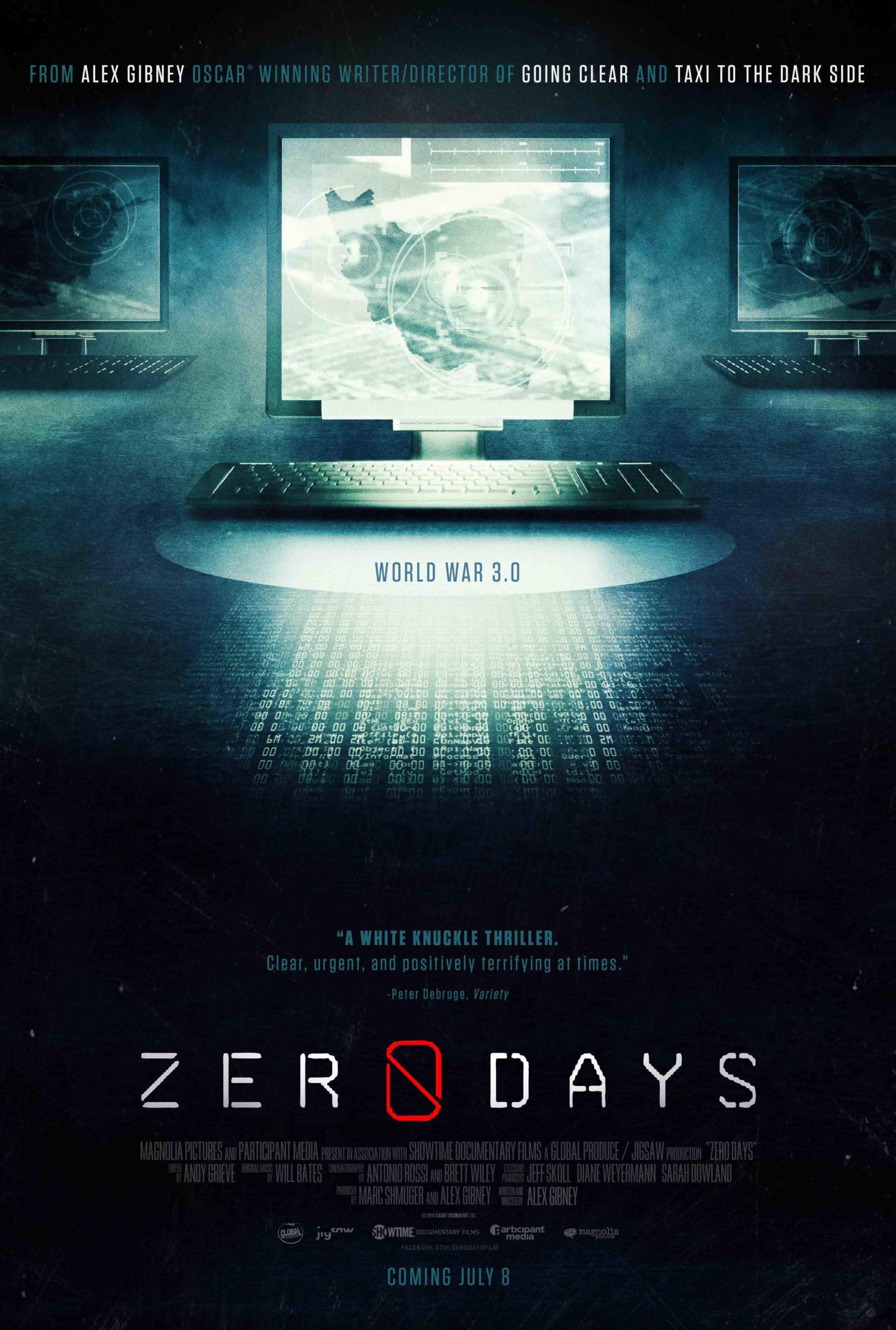 Alex Gibney: Zero Days. Dokumenttielokuva. Yhdysvallat 2016.