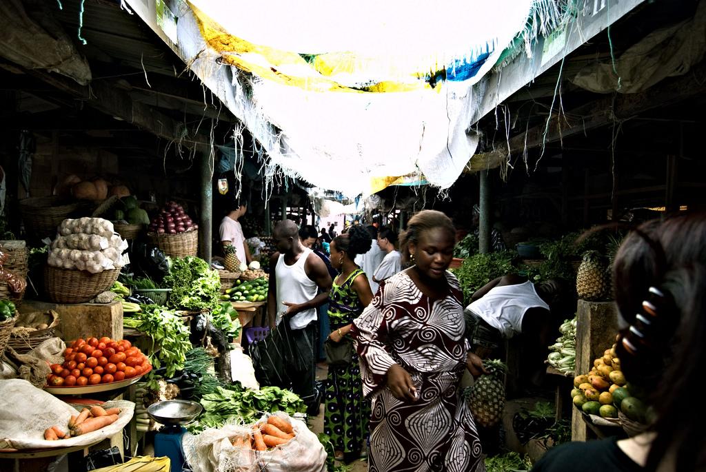 Toritunnelmaa Lagosissa. Kuva: Shawn Leishman / Wikimedia Commons