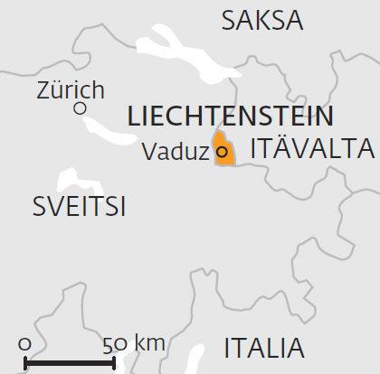 Liechtenstein lukuina