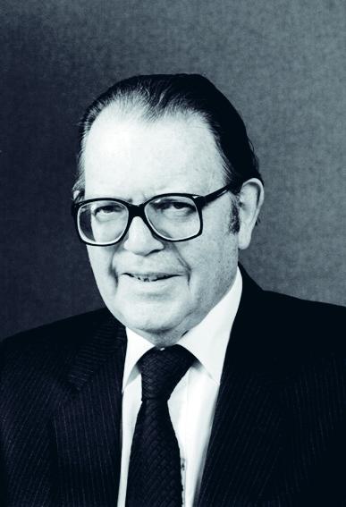 Arthur Cockfield ryhtyy päättäväisesti ajamaan sisämarkkinoiden luomista komissaarina. Kuva: Flickr