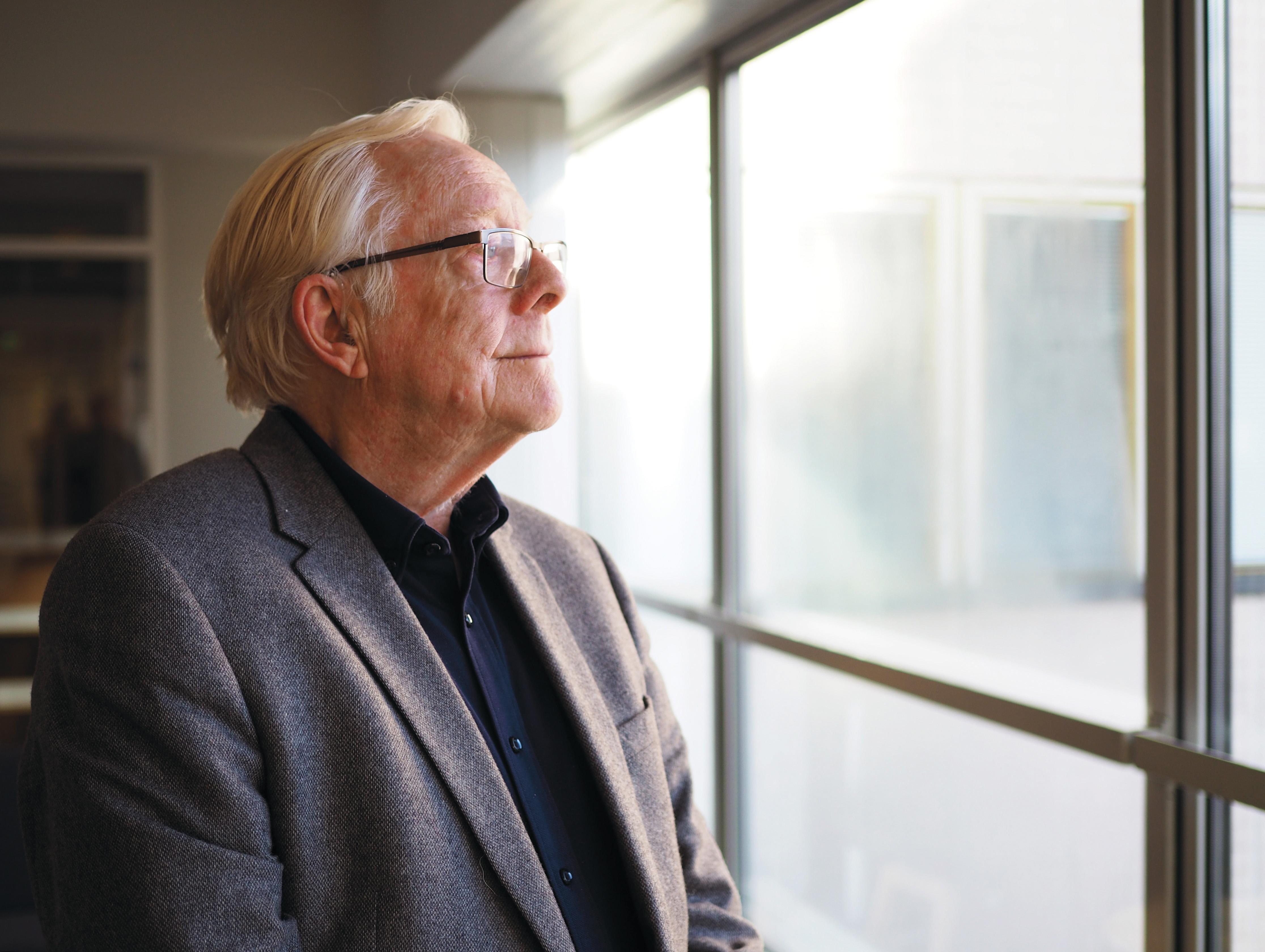 Suhteellinen köyhyys on lisääntynyt Ruotsissa, sanoo Göran Therborn.