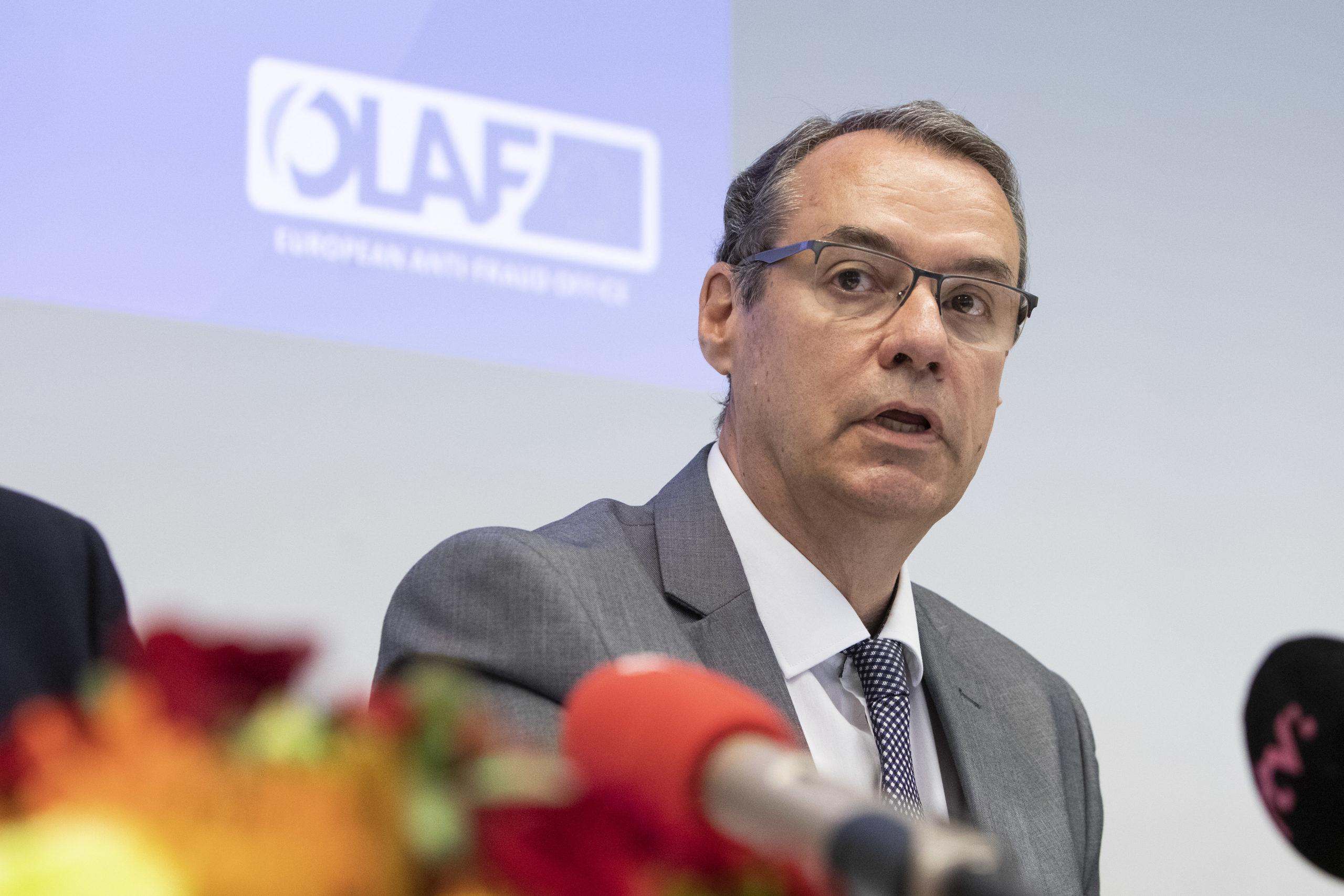Ville Itälä johtaa Olafia.