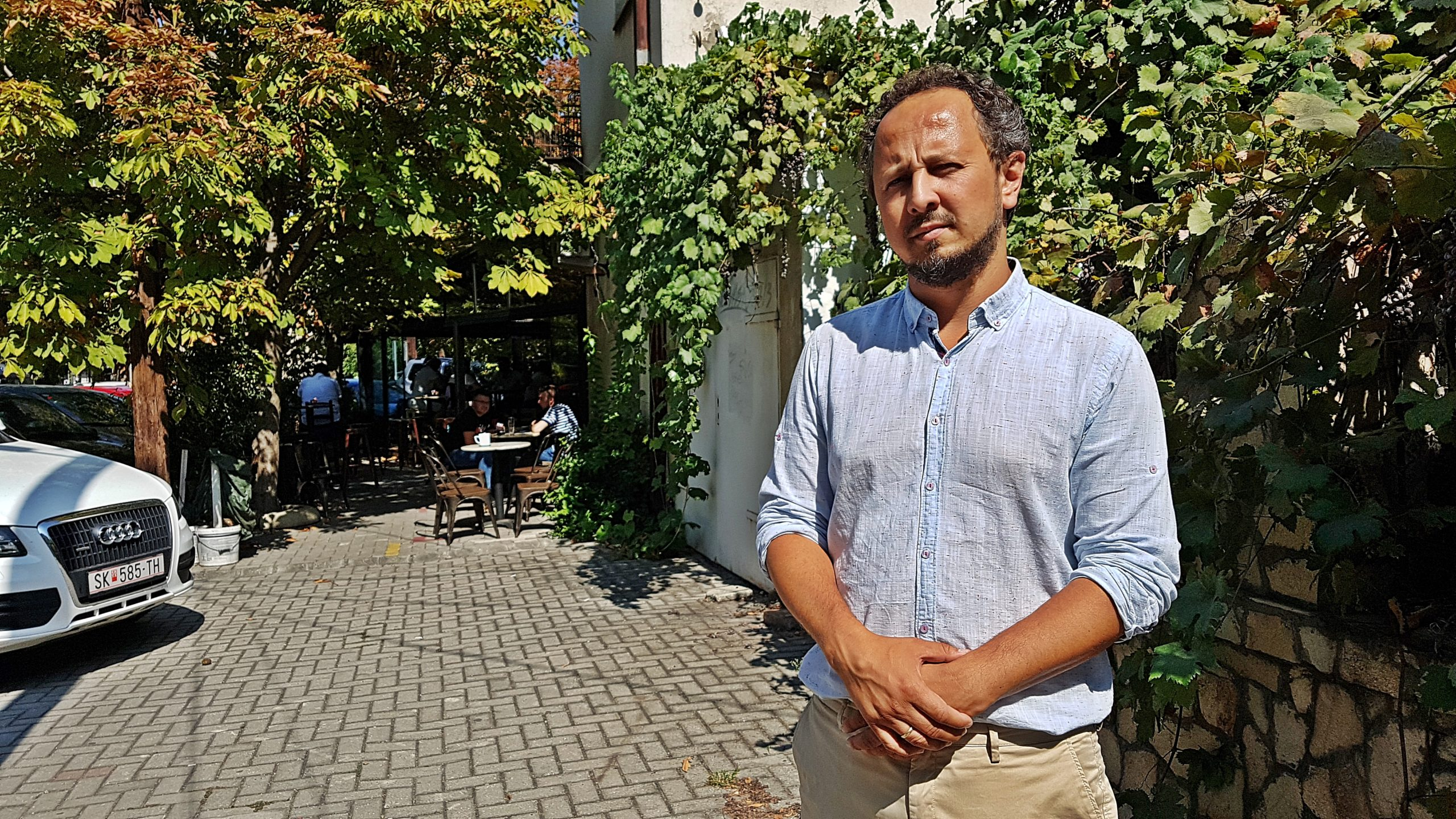 Ajatushautomon johtaja Marko Trosanovski uskoo, että korruptio kääntyy kasvuun,  kun Pohjois-Makedonian haaveet EU:hun liittymisestä kaatuivat.