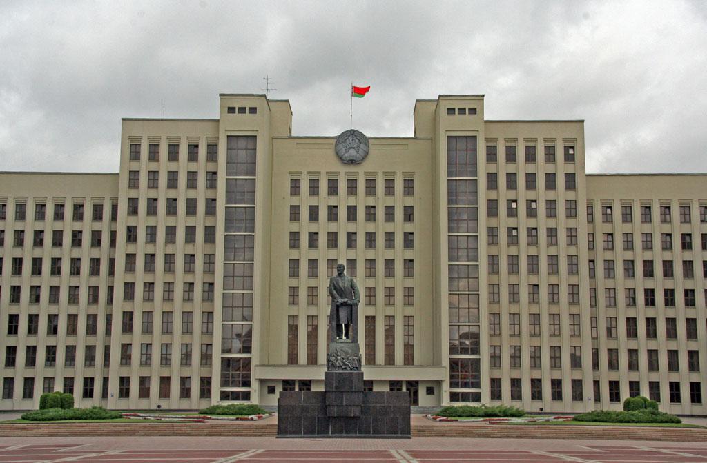 Leninin patsas parlamentin edessä. Kuva: Flickr/Nuno Godinho