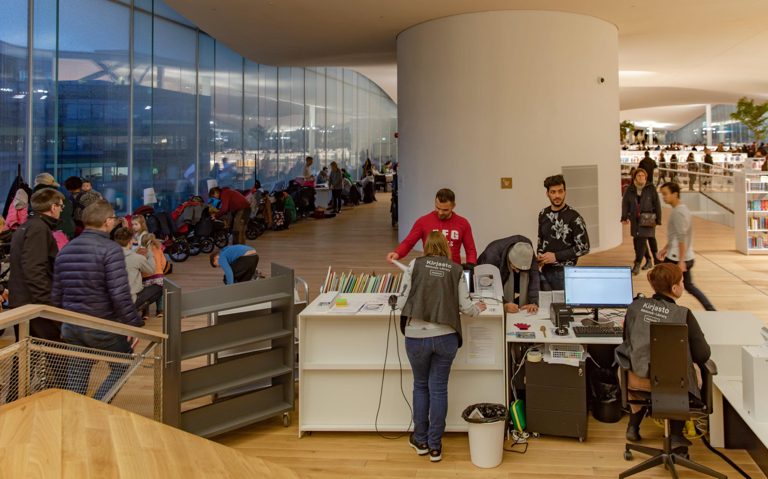 Kirjastolaina edellyttää tietojen luovuttamisesta  kaupungille.