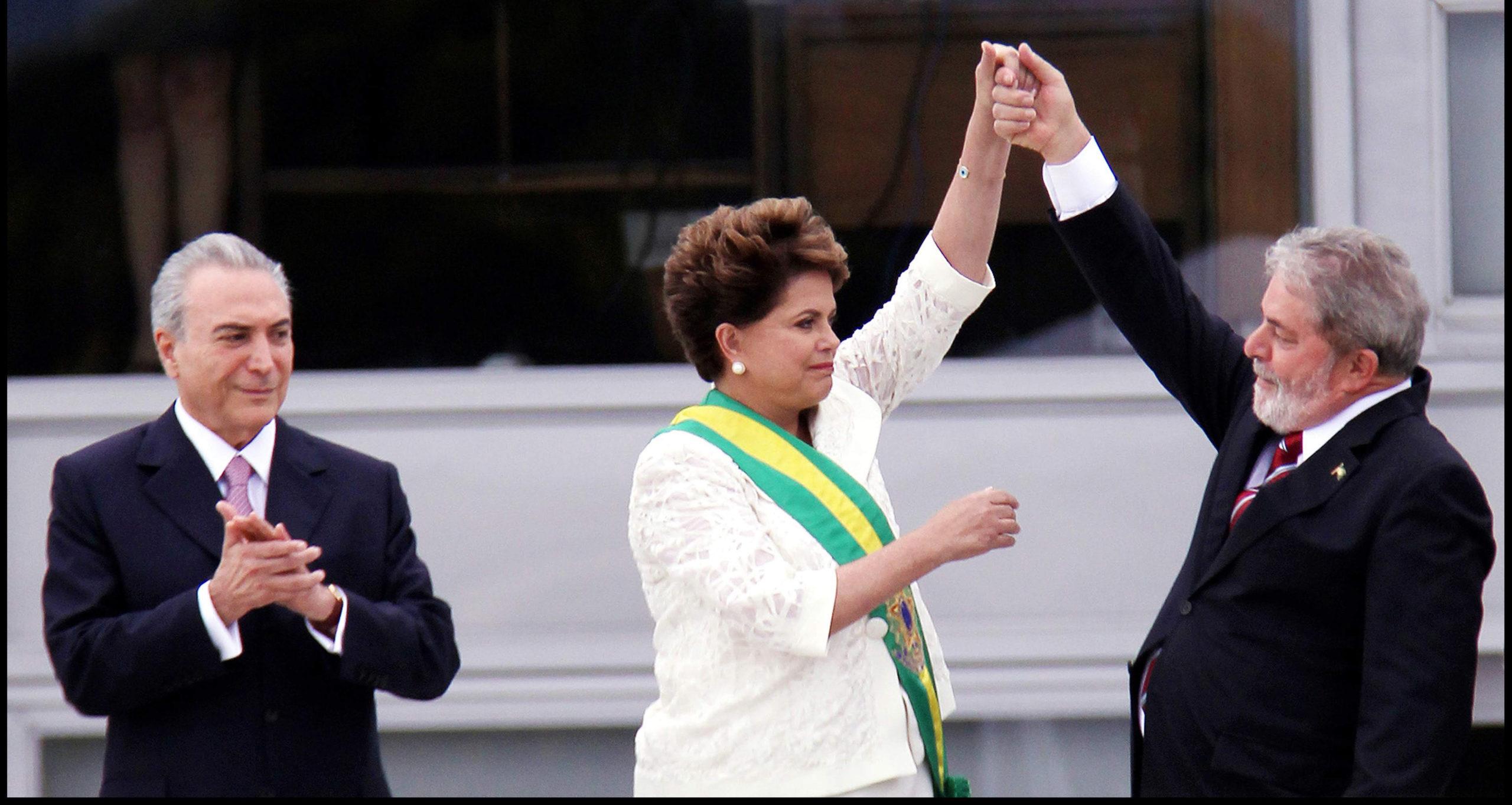 Dilma Roussef joutui luopumaan presidentin virasta 2016.