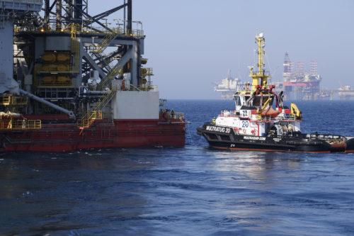 Öljyntuotantoa.