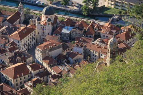 Kaupunkimaisema Montenegrossa