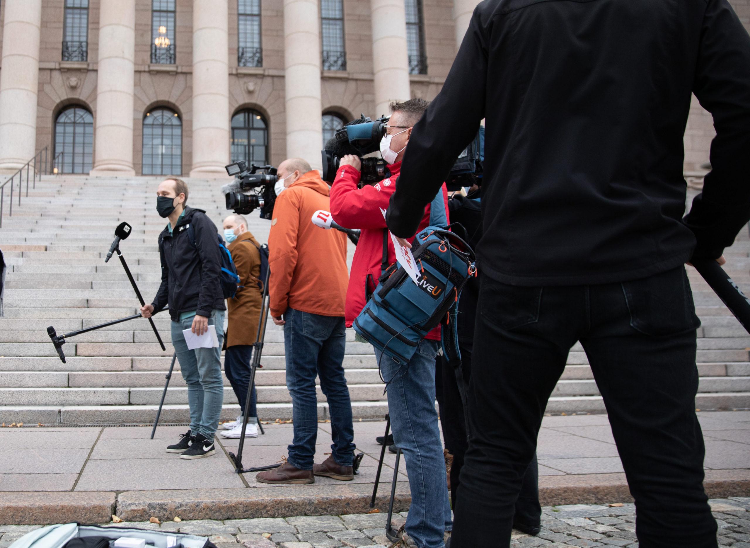 Näkyvästi esillä olevat tutkijat ovat joutuneet  Suomessa uhkailun ja vainon kohteeksi. Kuva: Flickr/Valtioneuvoston kanslia/Lauri Heikkinen