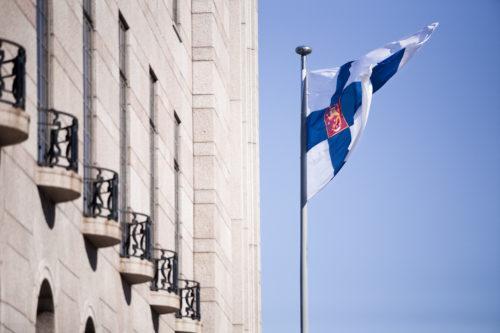 Eduskunta ja Suomen lippu