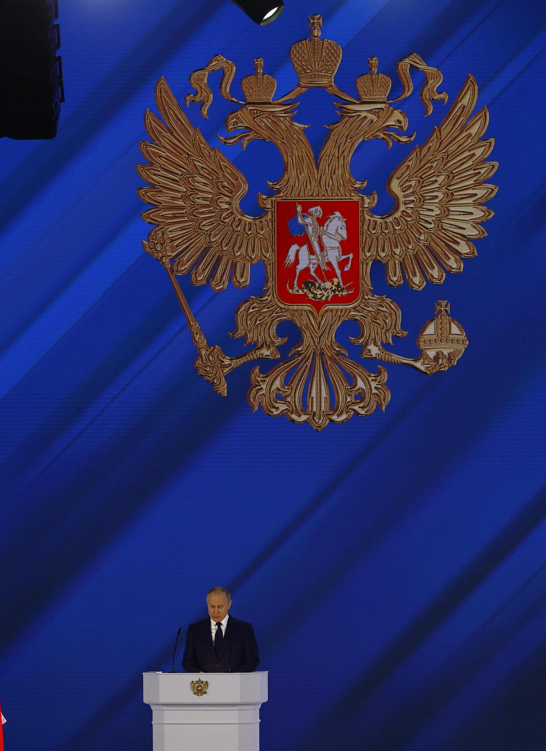 Presidentti Vladimir Putin.