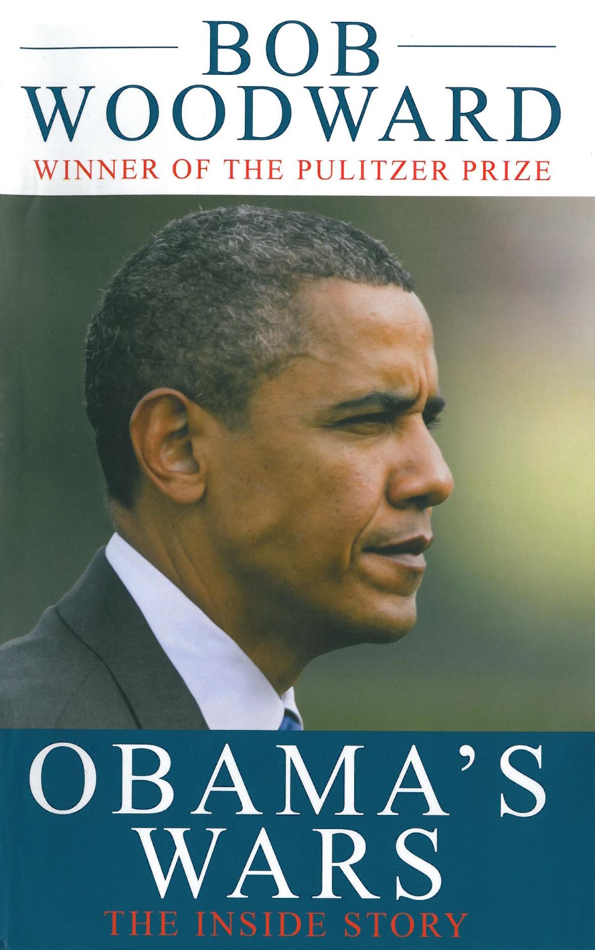 Bob Woodward: Obama's Wars. Simon & Schuster 2010, 441 s.