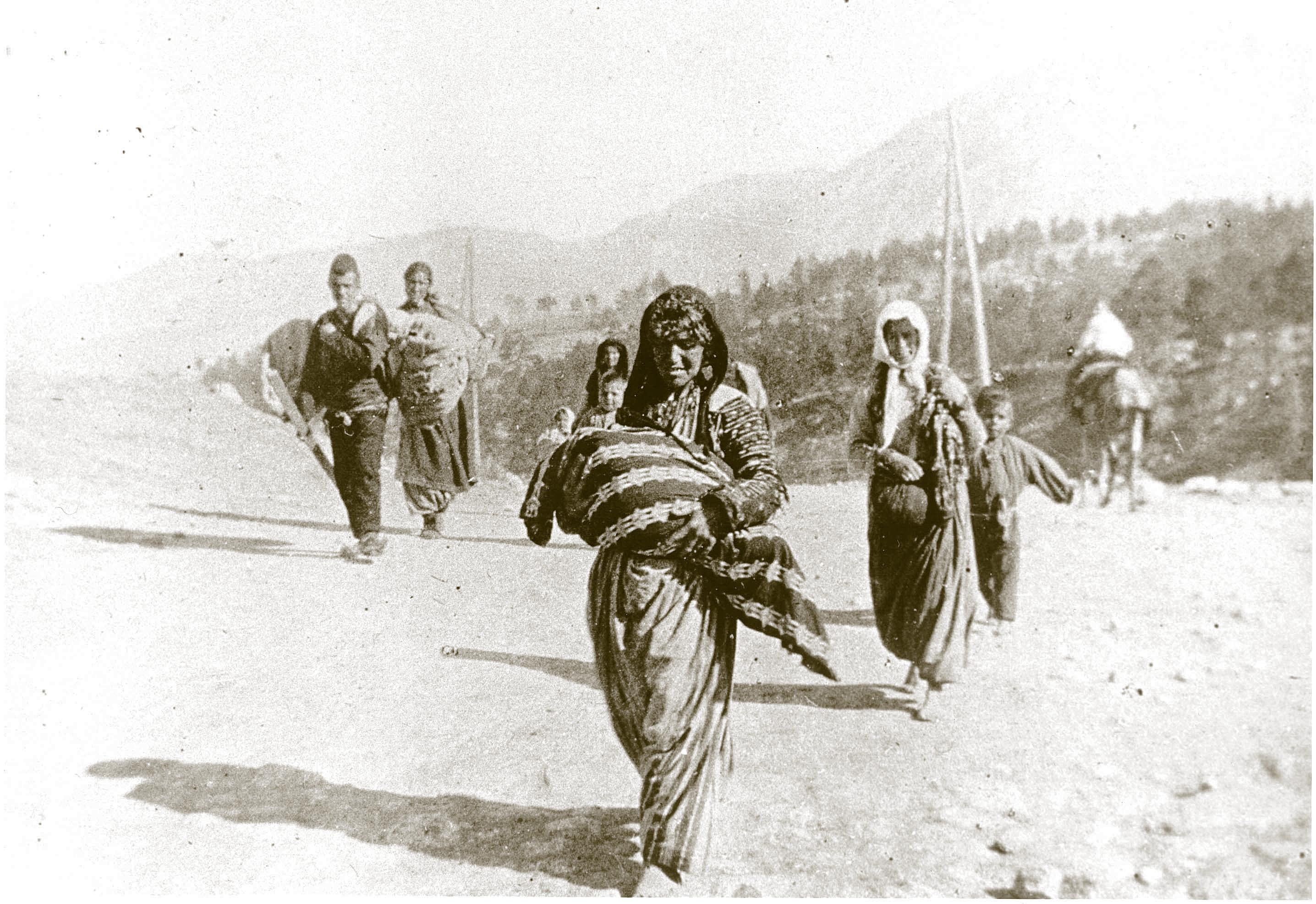 Armenian kansanmurhan pakolaisia Syyriassa vuonna 1915. // Kuva: ARMENIAN NATIONAL INSTITUTE