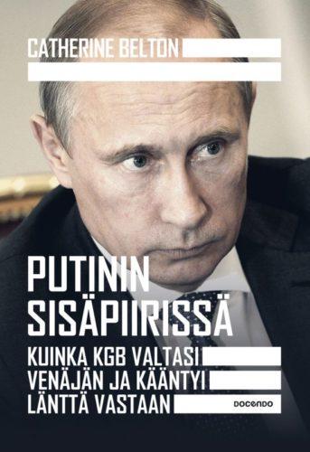 Klubikirjan kansi: Putinin sisäpiirissä