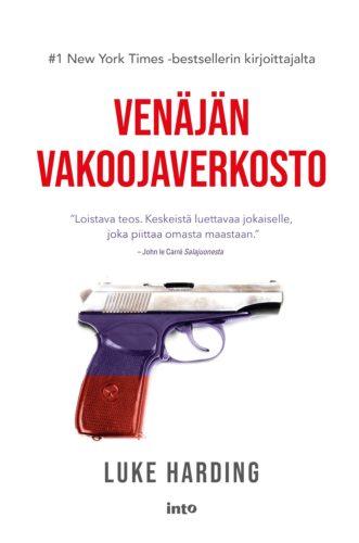 Klubikirjan kansi: Venäjän vakoojaverkosto